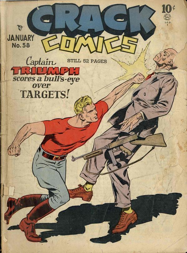 Crack Comics Vol 1 58