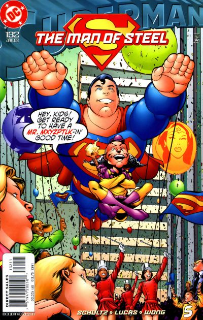 Superman: The Man of Steel Vol 1 132
