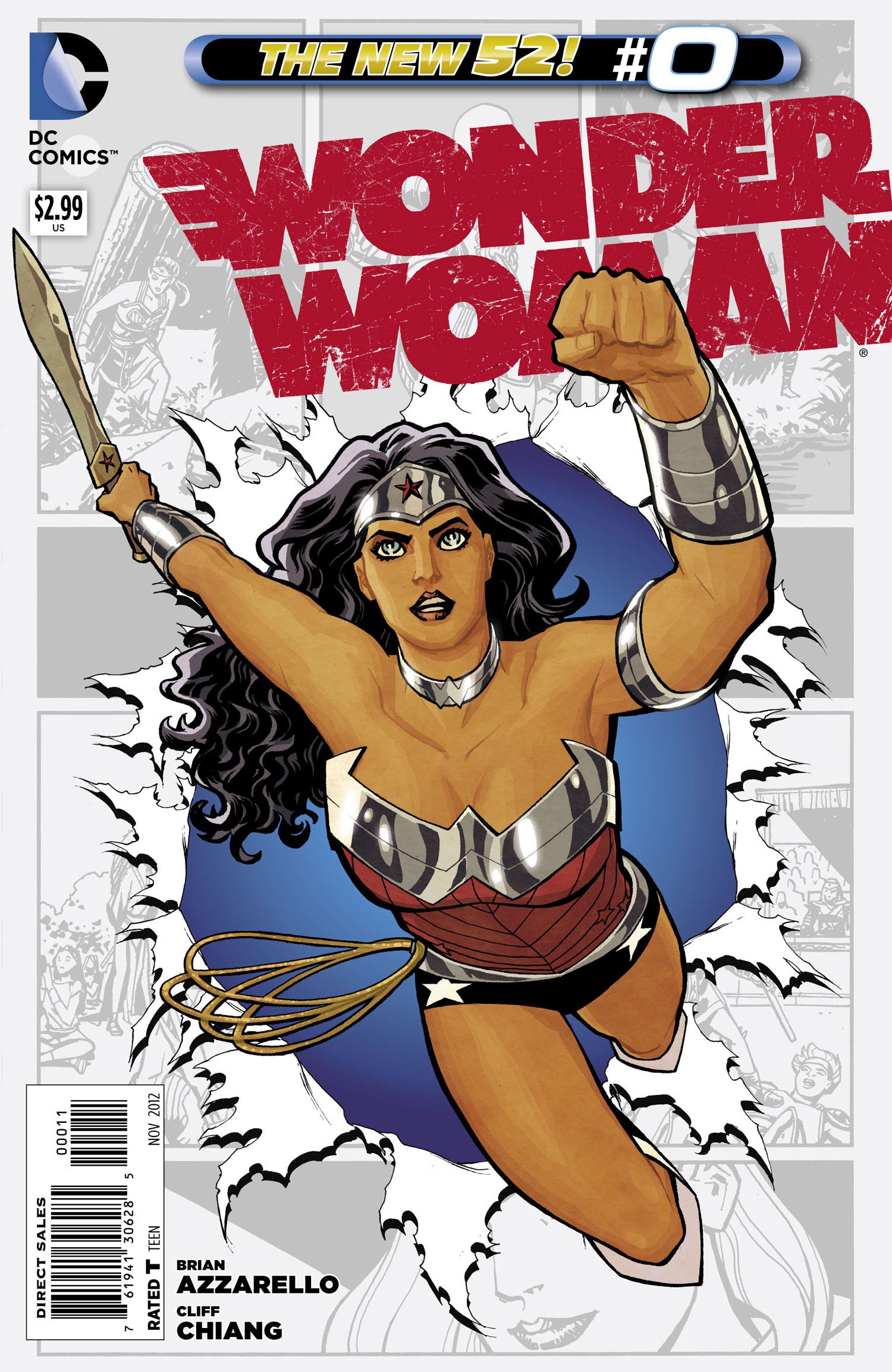 Wonder Woman Vol 4 0