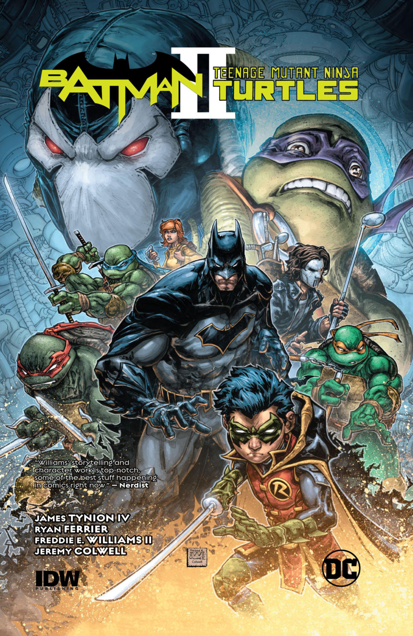 Batman/Teenage Mutant Ninja Turtles II (Collected)