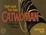 Catwoman: When in Rome Vol 1 5