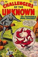 Challengers of the unknown 16