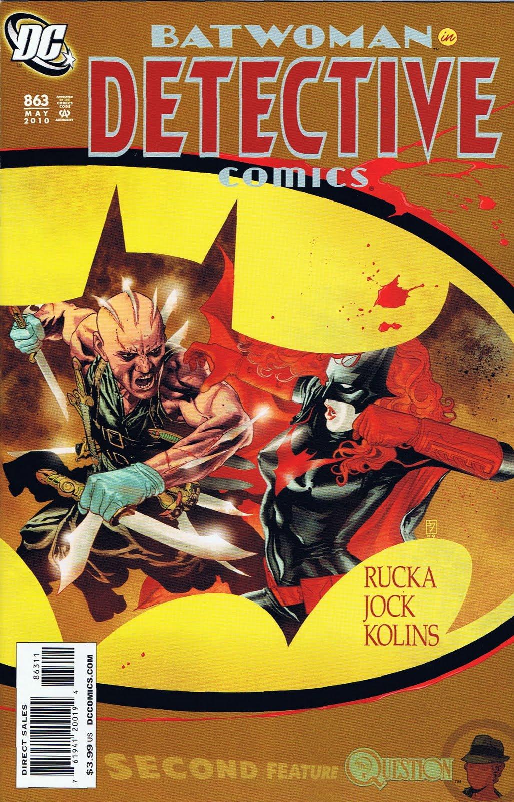Detective Comics Vol 1 863
