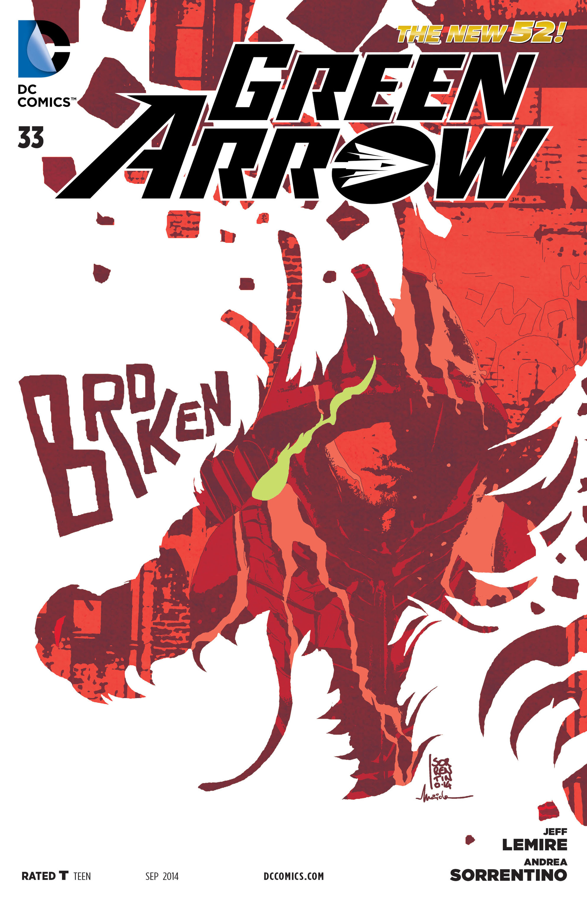 Green Arrow Vol 5 33