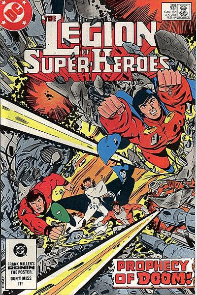 Legion of Super-Heroes Vol 2 308