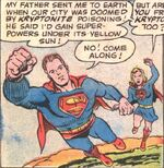 The Arrival of Supergirl
