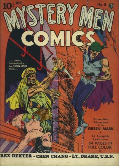 Mystery Men Comics Vol 1 5