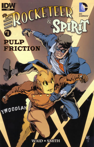 The Rocketeer/The Spirit: Pulp Friction Vol 1 1