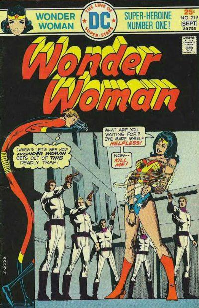 Wonder Woman Vol 1 219