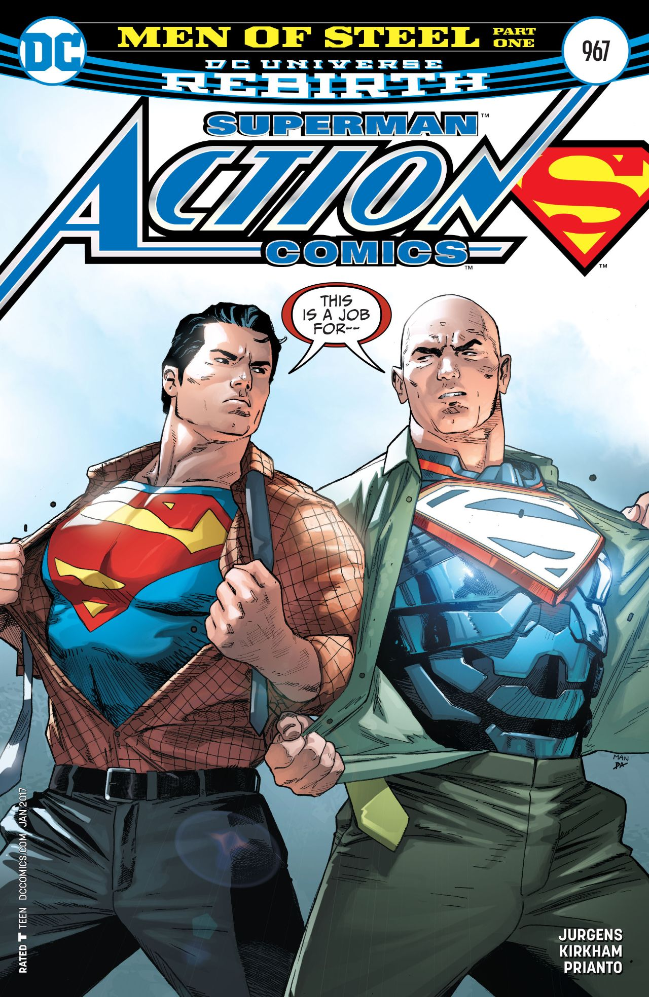 Action Comics Vol 1 967