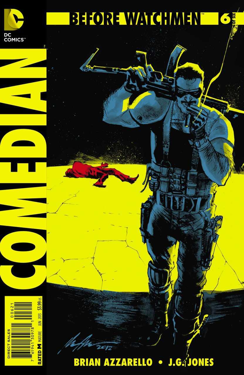 Before Watchmen: Comedian Vol 1 6