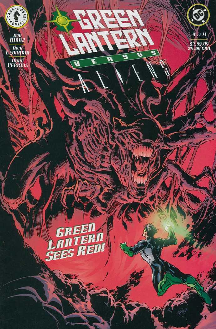 Green Lantern vs. Aliens Vol 1 4