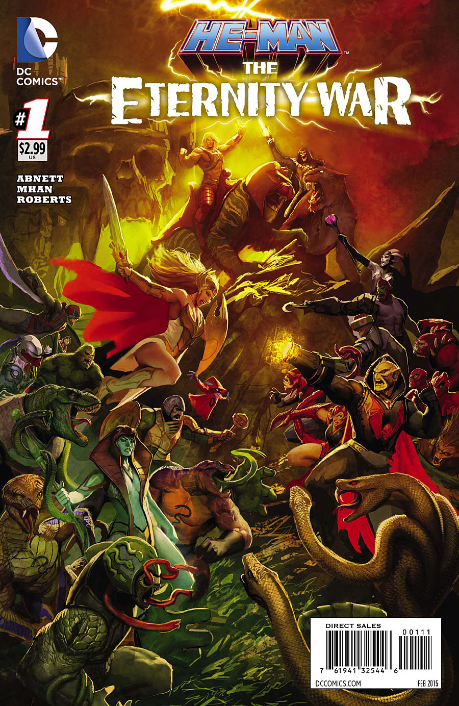 He-Man: The Eternity War Vol 1 1