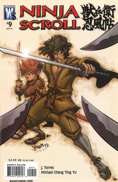 Ninja Scroll Vol 1 9