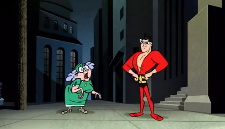 Plastic Man (Shorts) Episode: Super Hero Sketch Artist