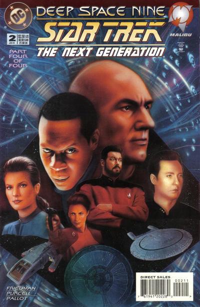 Star Trek: The Next Generation/Star Trek: Deep Space Nine Vol 1 2