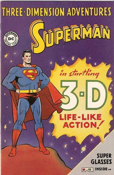 Three-Dimension Adventures Superman
