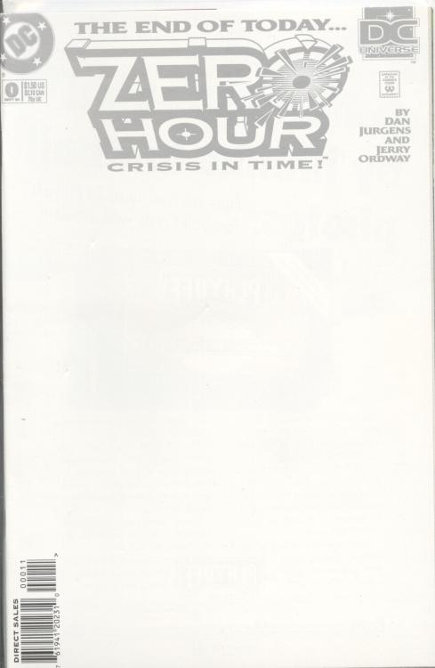 Zero Hour: Crisis in Time Vol 1 0