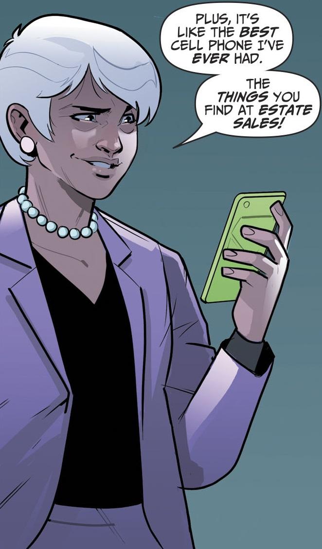 Cell Phone Sylvia (Prime Earth)
