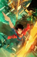 Challenge of the Super Sons Vol 1 2 Textless
