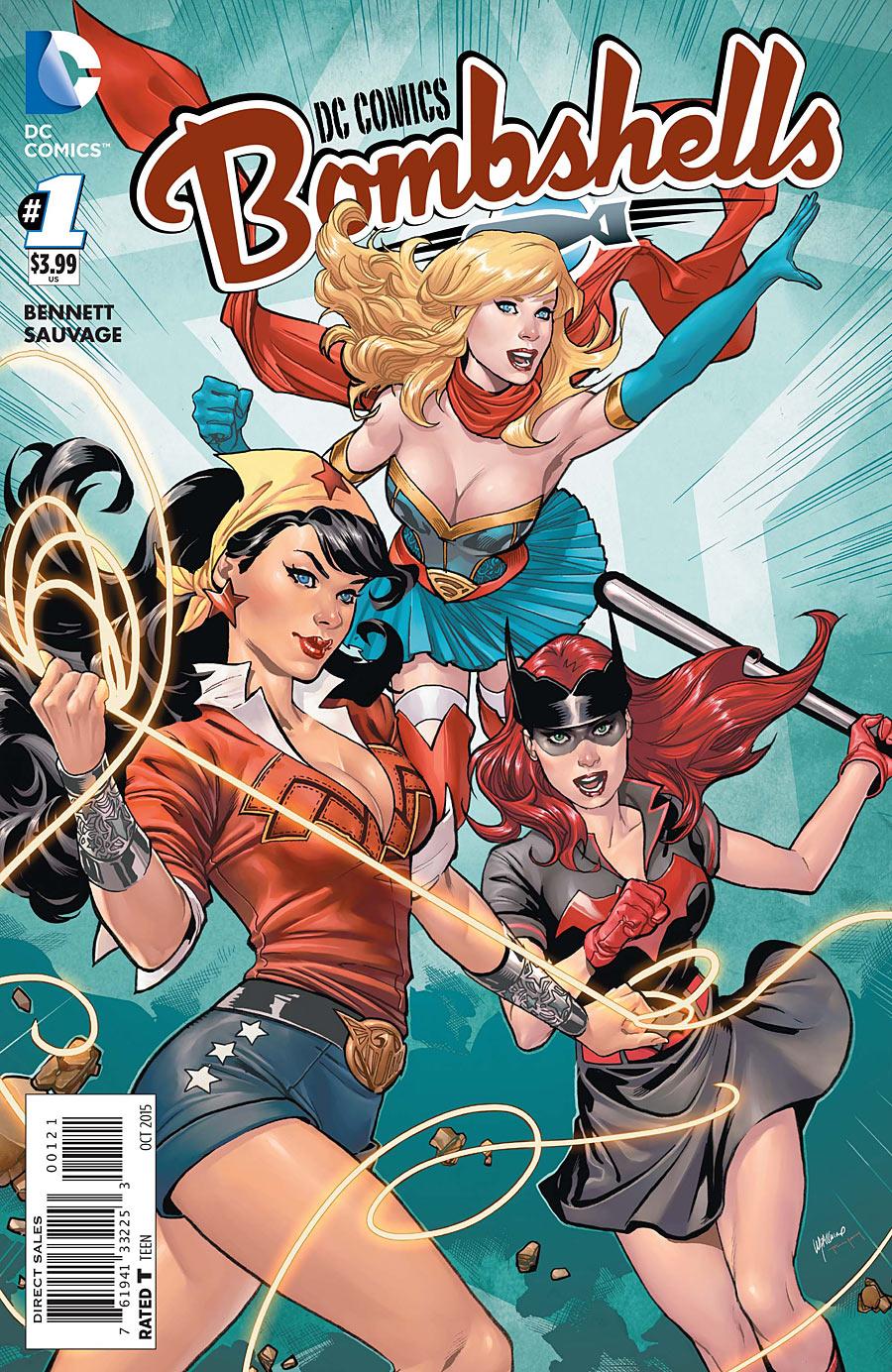 DC Comics Bombshells Vol 1 1