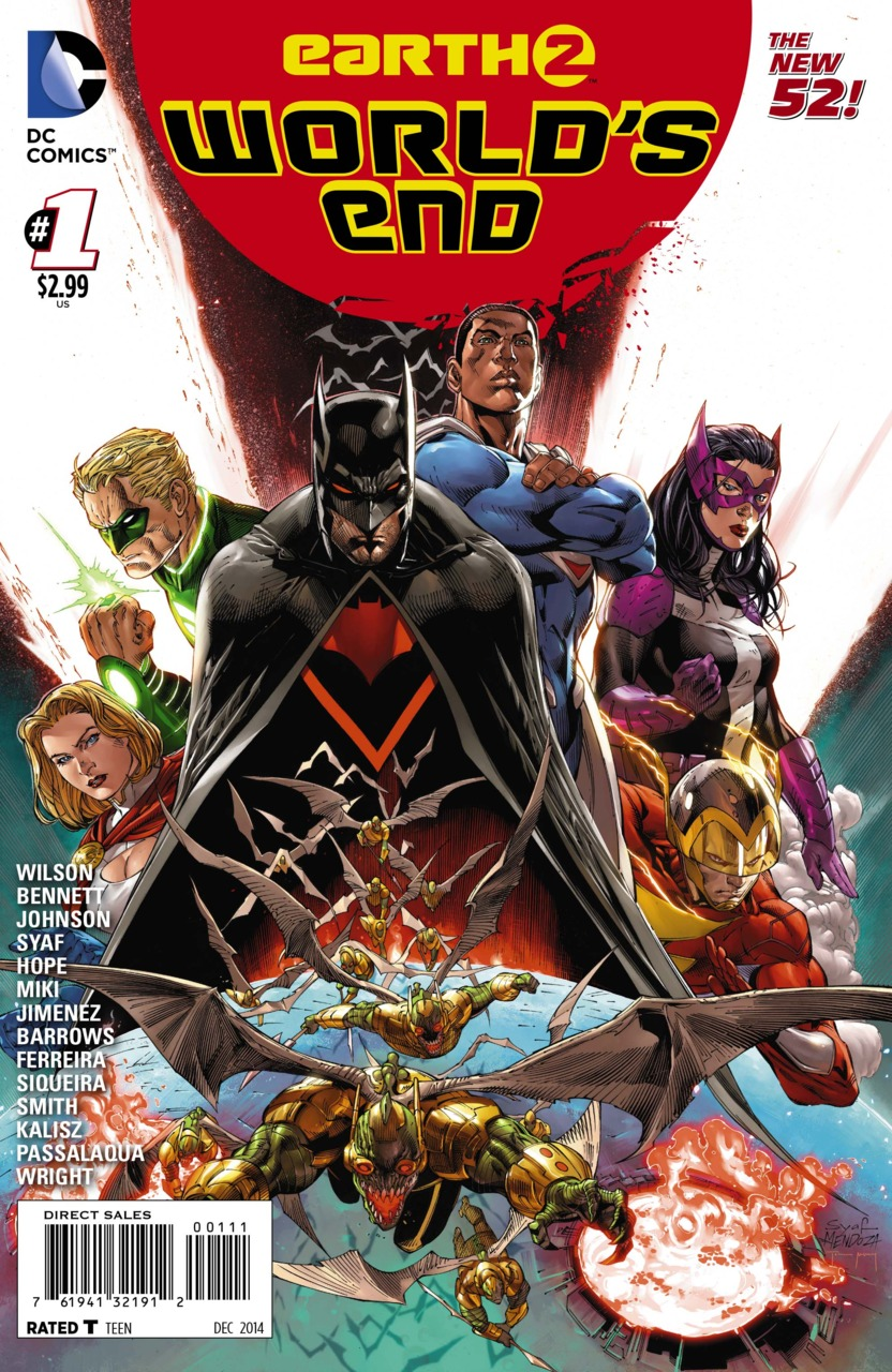 Earth 2: World's End Vol 1 1