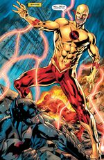 Thawne is transported from the timestream to the Dark Flashpoint world