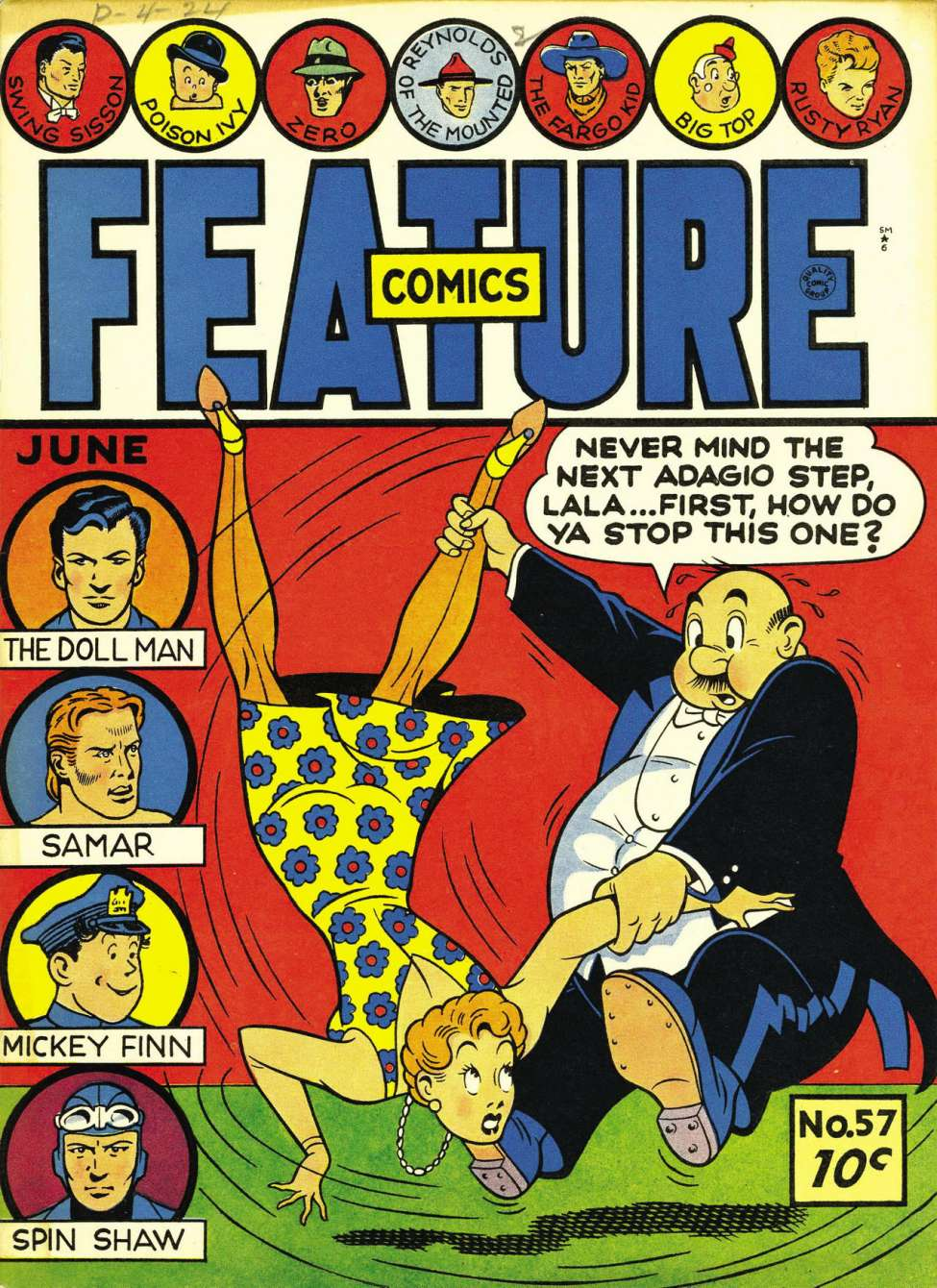 Feature Comics Vol 1 57