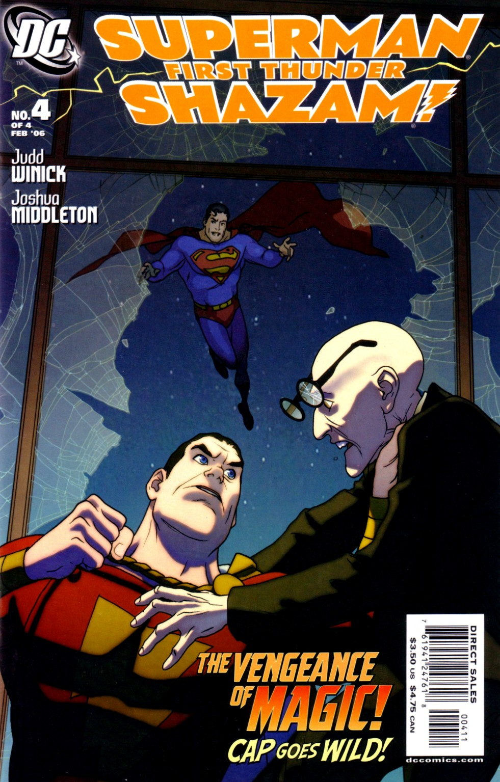 Superman/Shazam!: First Thunder Vol 1 4