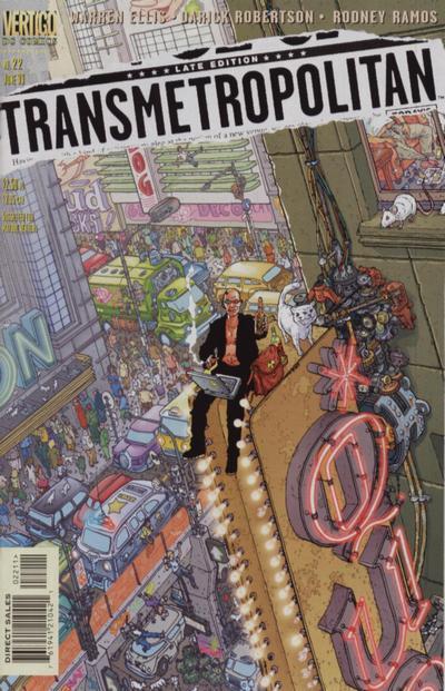Transmetropolitan Vol 1 22