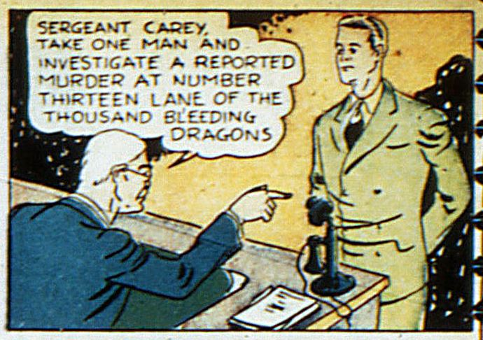 Detective Sergeant Carey (Earth-Two)