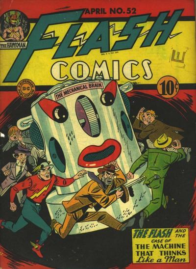 Flash Comics Vol 1 52
