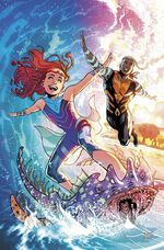 Aqualass and Aquaman