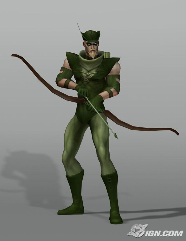 Oliver Queen (Justice League Heroes)