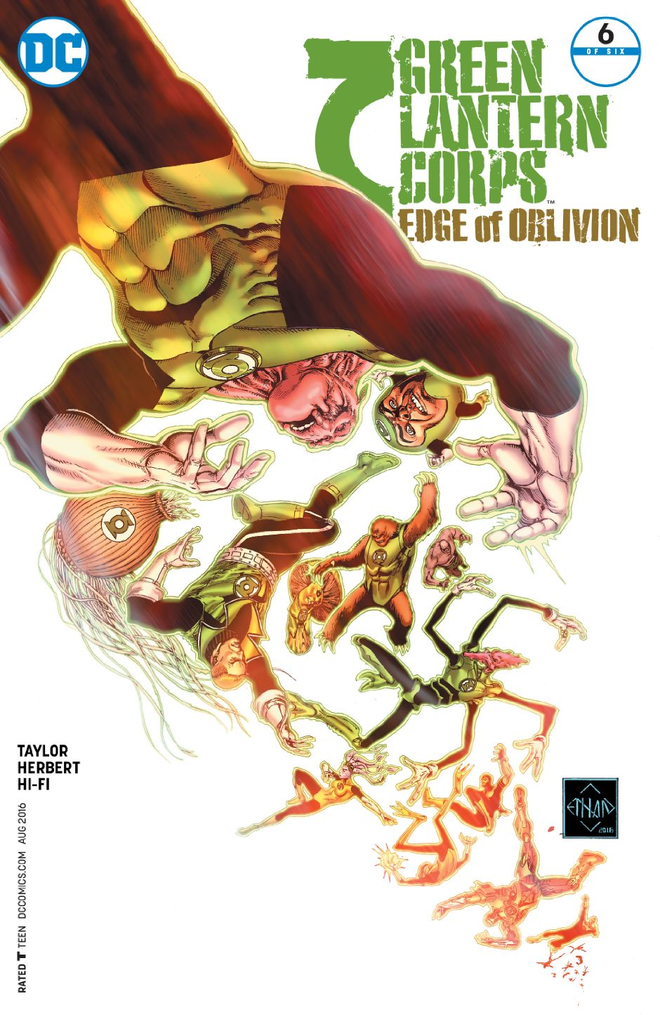 Green Lantern Corps: Edge of Oblivion Vol 1 6