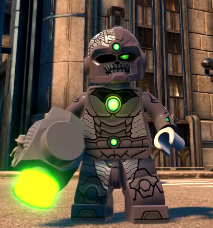 Grid (Lego Batman: Earth 3)