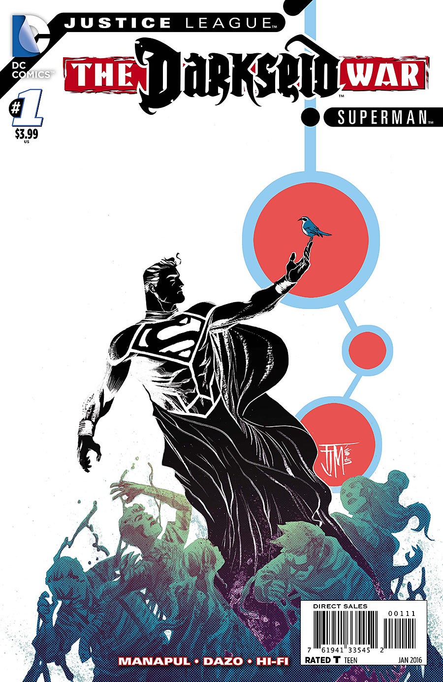 Justice League: The Darkseid War: Superman Vol 1 1