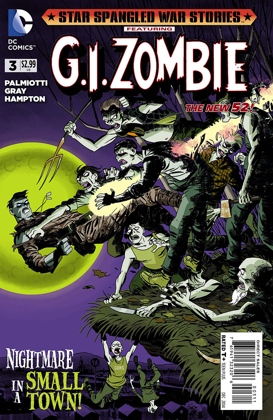 Star-Spangled War Stories Featuring G.I. Zombie Vol 1 3