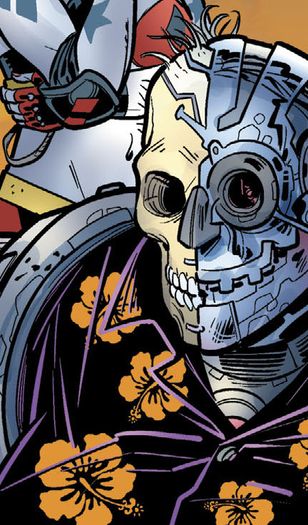 Sy Borgman (Old Lady Harley)