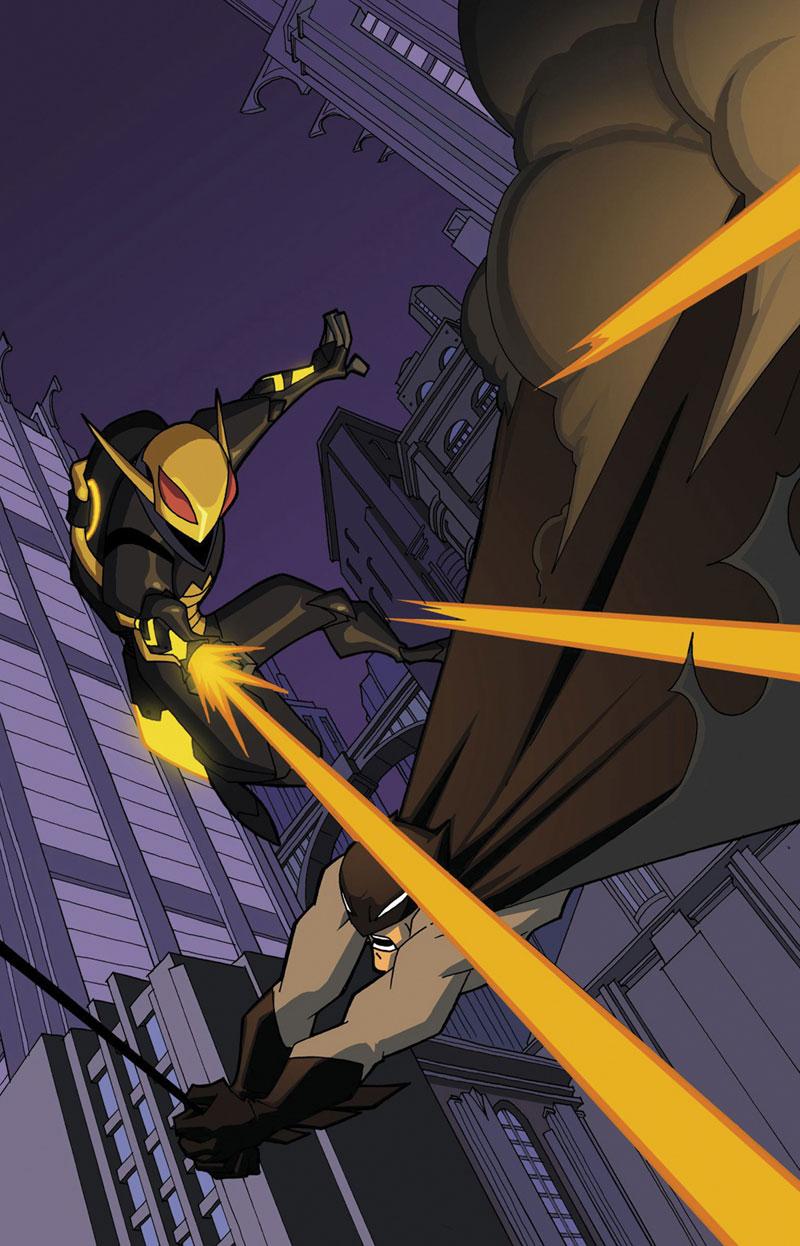 The Batman Strikes! Vol 1 8 Textless.jpg