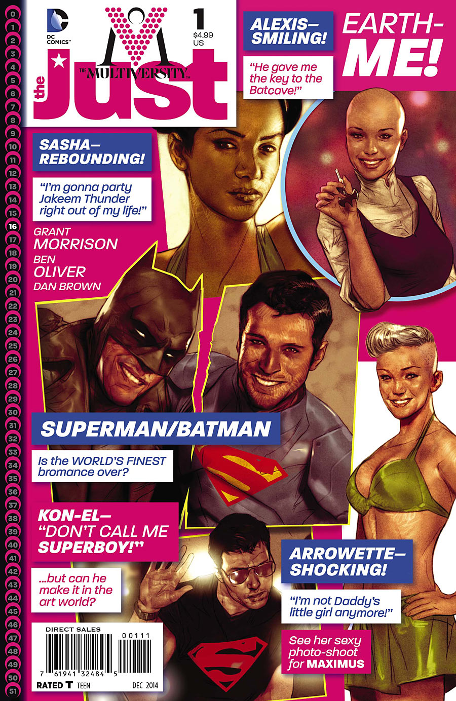The Multiversity: The Just Vol 1 1