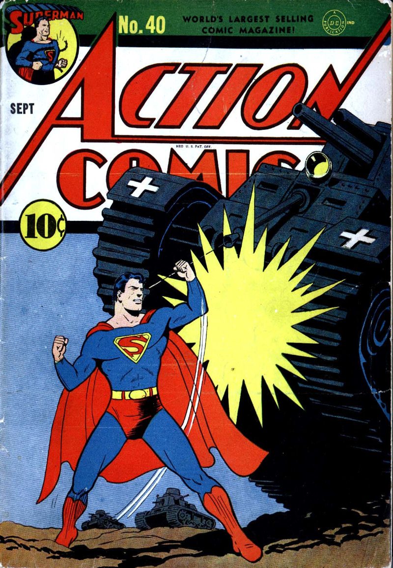 Action Comics Vol 1 40