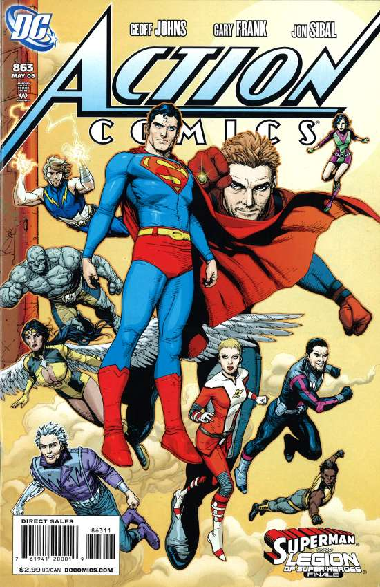 Action Comics Vol 1 863
