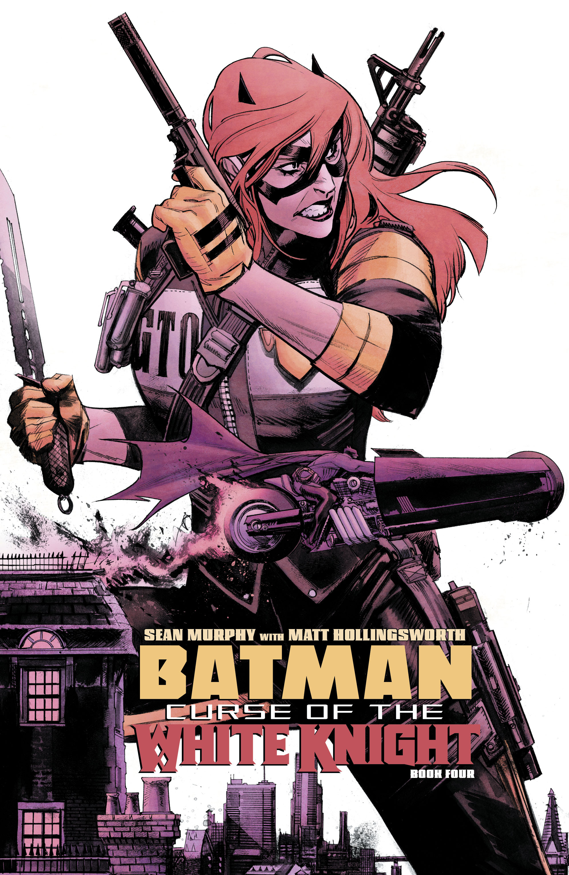 Batman: Curse of the White Knight Vol 1 4