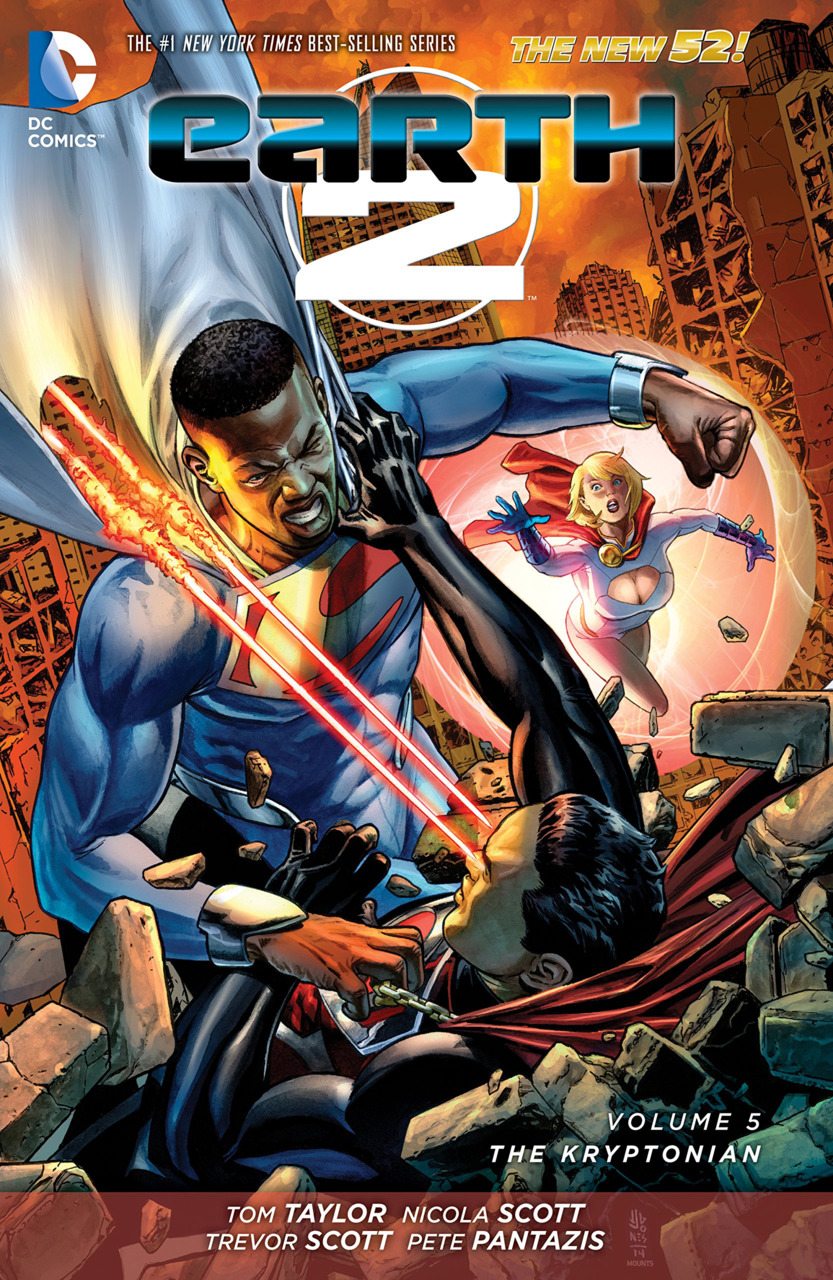 Earth 2: The Kryptonian (Collected)