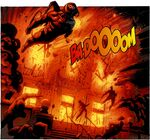 Firefly blowing up the GCPD