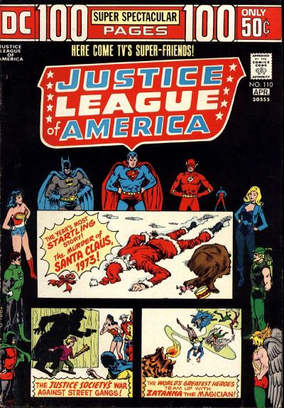 Justice League of America Vol 1 110