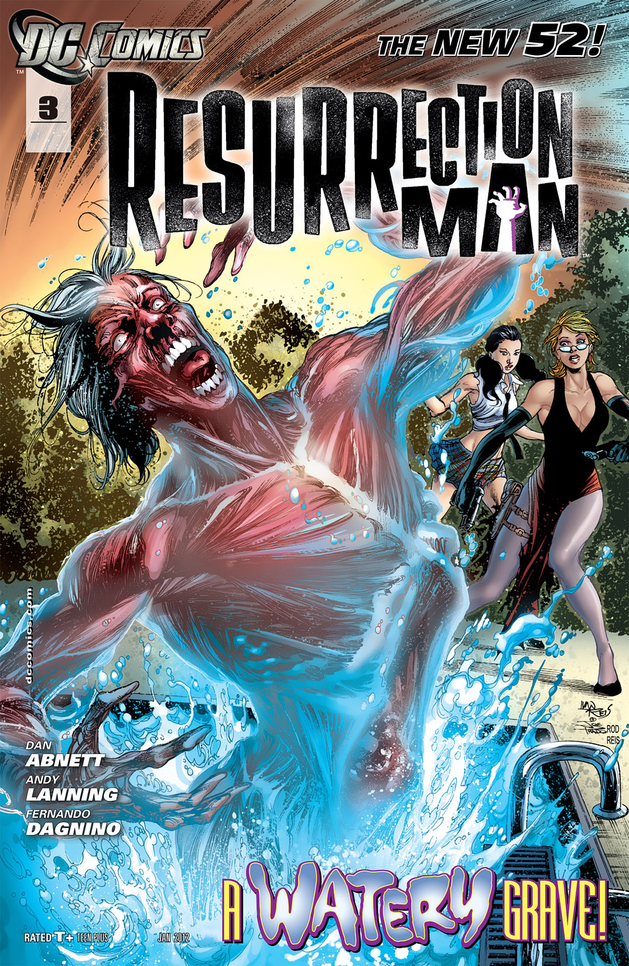 Resurrection Man Vol 2 3