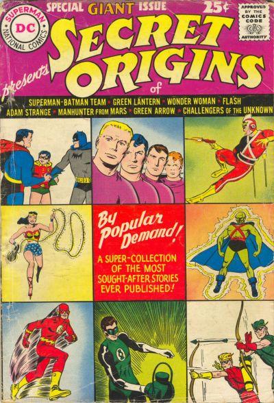 Secret Origins Special Giant Issue Vol 1 1