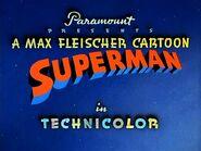 Superman Fleischer Logo